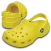 Crocs Classic Clogs Kids Lemon